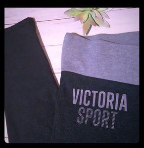 Victoria Sport leggings midnight blue S short